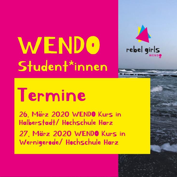WENDO Kurs_termin_April_Aline Felger_Hochschule_Wernigerode_Selbstbehauptung